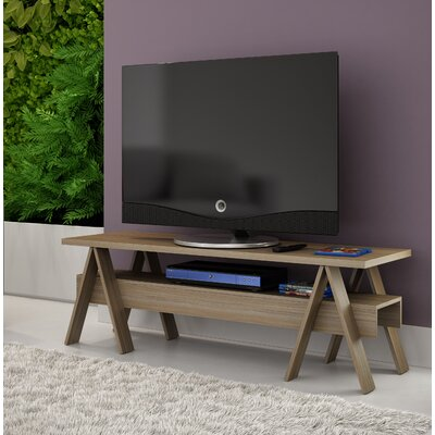 Marlboro 53.15 TV Stand with 1 Lower Shelf Color: Oak