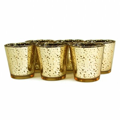 Koyal Wholesale Antique Glass Votive Cup 424491