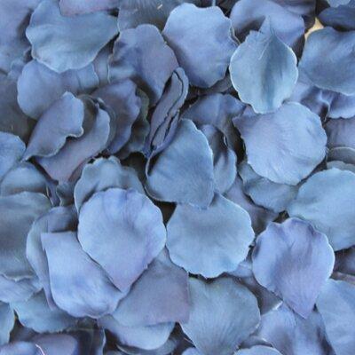 Silk Rose Petals Color: Navy Blue