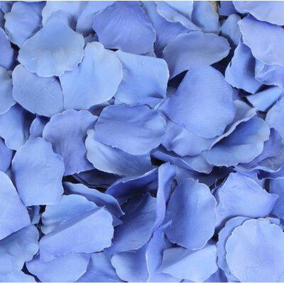 Silk Rose Petals Color: Royal Blue