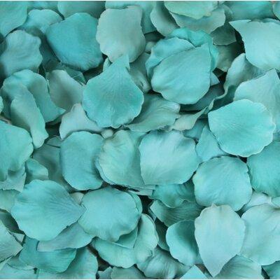 Silk Rose Petals Color: Diamond Blue