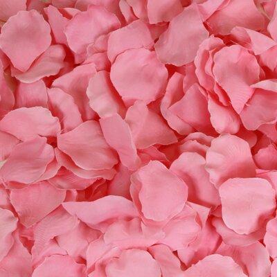 Silk Rose Petals Color: Pink