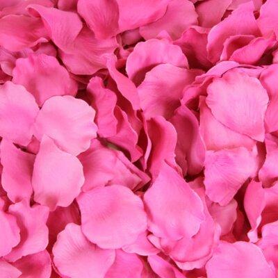 Silk Rose Petals Color: Fuchsia
