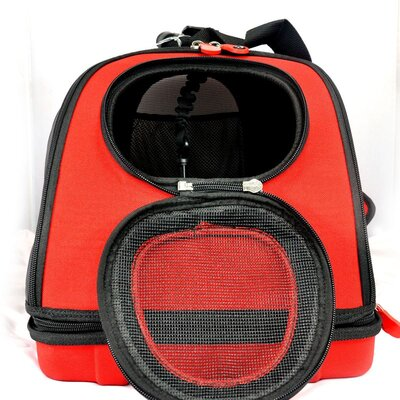 Wacky Paws EVA Pet Carrier - Size: Small, Color: Red at Sears.com