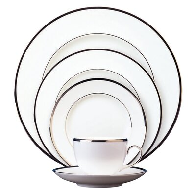 Sterling Bone China 5 Piece Place Setting, Service for 1 032677423646