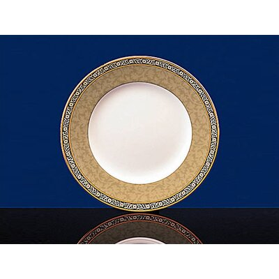 India 10.7 Green Dinner Plate (set Of 4)