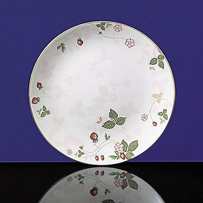 Wild Strawberry 8 Pink Coupe Plate (set Of 4)