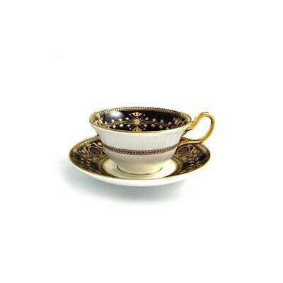 Black Astbury Peony Teacup