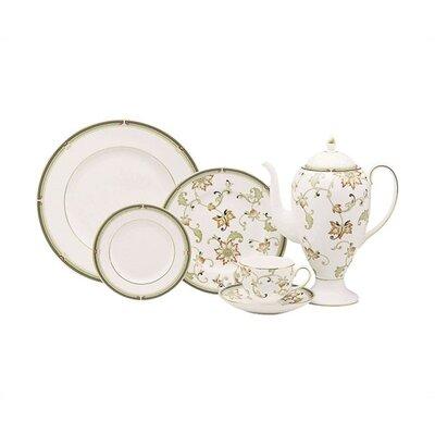 Oberon Dinnerware Collection-oberon 8 Flora Salad Plate