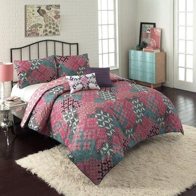 Vue Vue 5 Piece Ondrian Comforter Set - Size: Queen