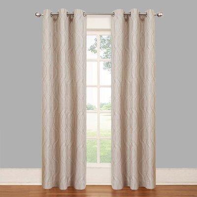 Vue Eclipse Tremont Blackout Grommet Curtain Panel - Color: Latte