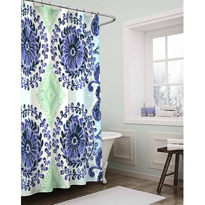 Aurelio Cotton Shower Curtain