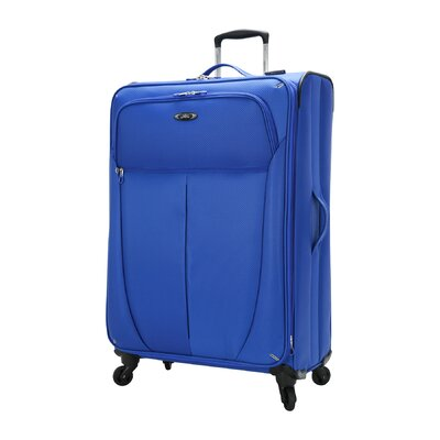 """Daily Sales - Wildon Home Mirage Superlight 28"""" Spinner Suitcase - Color: Maritime Blue at Sears.com"""