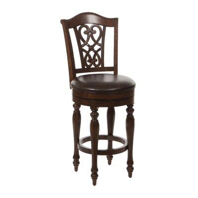 Hamilton Park 26 Swivel Bar Stool with Cushion
