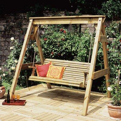 Hollywoodschaukel Hollywood | Garten > Gartenmöbel > Hollywoodschaukeln | Beige | Holz | Zest 4 Leisure