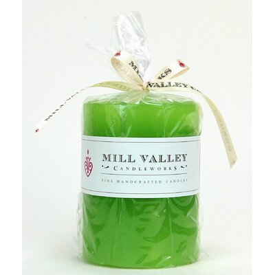 "Tulip Scented Pillar Candle Size: 4"" H x 3"" W x 3"" D 6829-043-03"