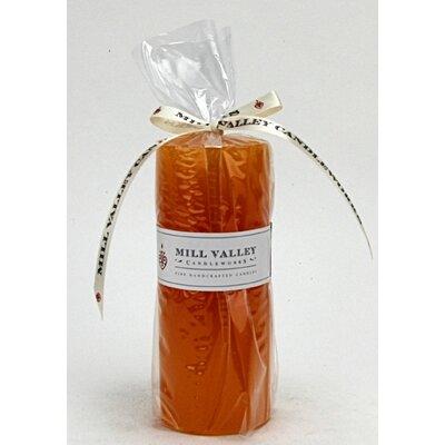 "Mango Citrus Scented Pillar Candle Size: 5"" H x 2"" W x 2"" D 6829-040-02"