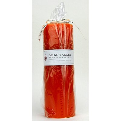 "Mango Citrus Scented Pillar Candle Size: 9"" H x 3"" W x 3"" D 6829-040-05"