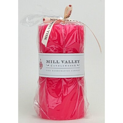 "Watermelon Scented Pillar Candle Size: 6"" H x 3"" W x 3"" D 6829-044-04"