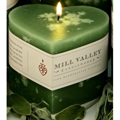 Sage Scented Novelty Candle 6829-038-09