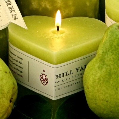 Green Pear Scented Novelty Candle 6829-025-09