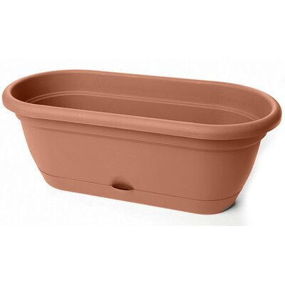 bloem Lucca Oval Window Box (Set of 6) - Color: Terra Cotta