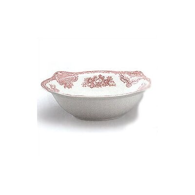 Old Britain Castles Pink Christmas Round Vegetable Dish