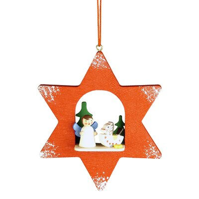 Angel Star Ornament