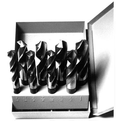 "Drill America 29 Pieces 1/16""-1/2""x64ths HSS Drill Set with 3/8"" Shank at Sears.com"