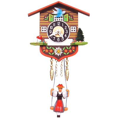 Battery Operated Chalet Cuckoo Clock 129SQ