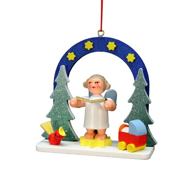 Christian Ulbricht Starry Sky Angel Ornament 10-0589