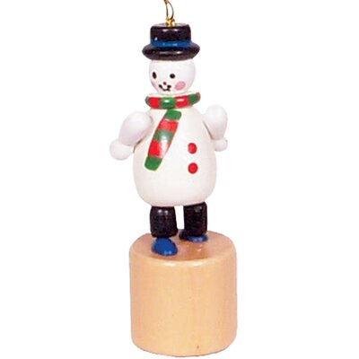 "Snowman ""Push"" Toy X1042-3"