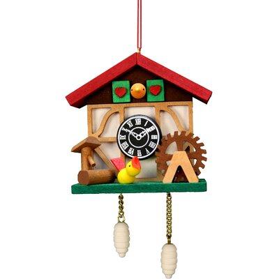 Christian Ulbricht Cuckoo Clock Bird Ornament