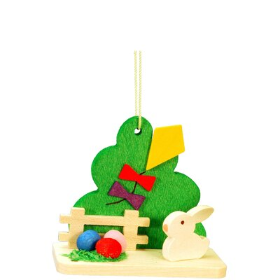 Christian Ulbricht Bunny with Kite Ornament