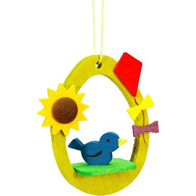 Christian Ulbricht Bird in Egg Ornament
