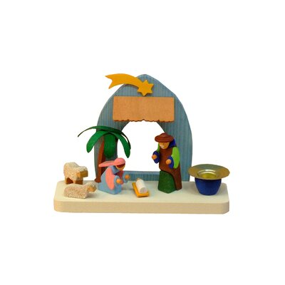 Graupner Nativity Scene Candleholder Ornament