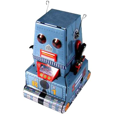 Collectible Decorative Tin Toy Robot MS371