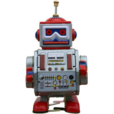 Collectible Decorative Tin Toy Robot MS406