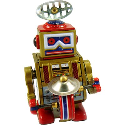 Collectible Decorative Tin Toy Robot MS409