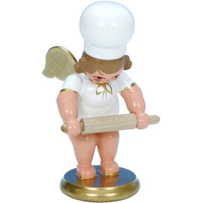 Christian Ulbricht Angel Baker Ornament with Rolling Pin 31265