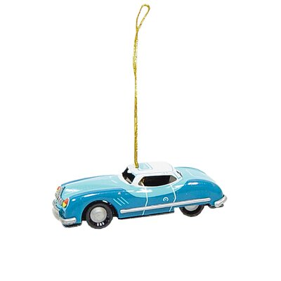 Tin Car Ornament AT1