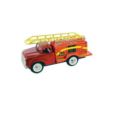 Tin Fire Truck Toy JMF163