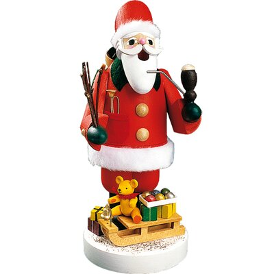 Richard Glaesser Santa with Sleigh Incense Burner THLA5958 40242827