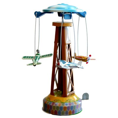 Collectible Decorative Tin Toy Merry-Go-Round MM262