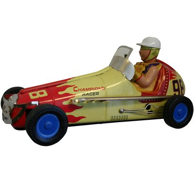 Collectible Tin Toy Wind Up Racer