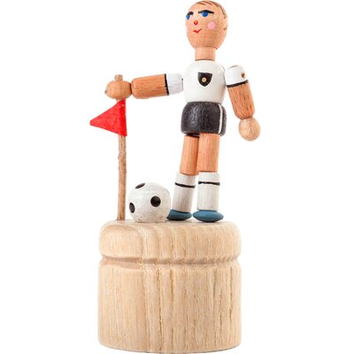 Dregeno Soccer Player Push Toy Statue 105-061