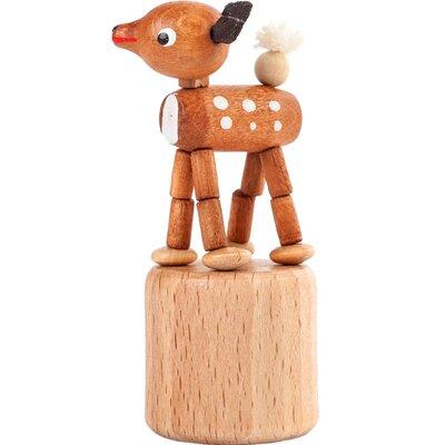 Dregeno Deer Push Toy Statue