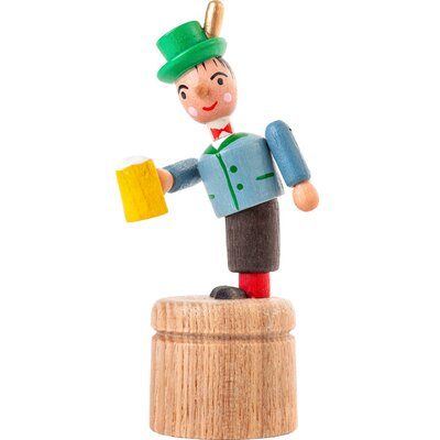 Dregeno Bavarian Push Toy Statue