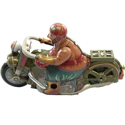 Collectible Tin Toy Motor Cycle MS448
