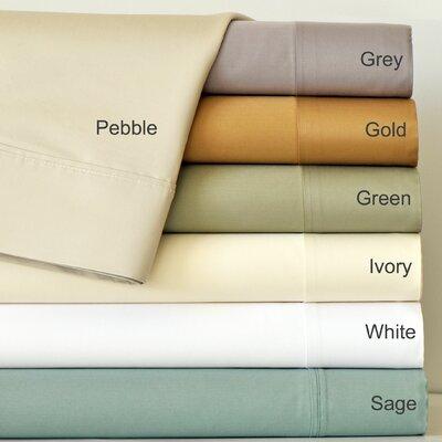 Aspire Linens 820 Thread Count Cotton Sateen Sheet Set - Size: Queen, Color: Gold